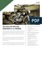 Yamaha SR400 2014