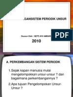 Ppt-perkembangansistem Periodik Unsur