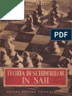 Stere Sah Istoria Sahului 1952 Keres Vol.I