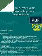 Hormon Hormon Untuk Metabolisme