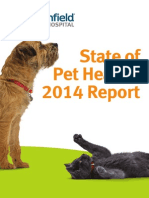 State of Pet Health Report 2014