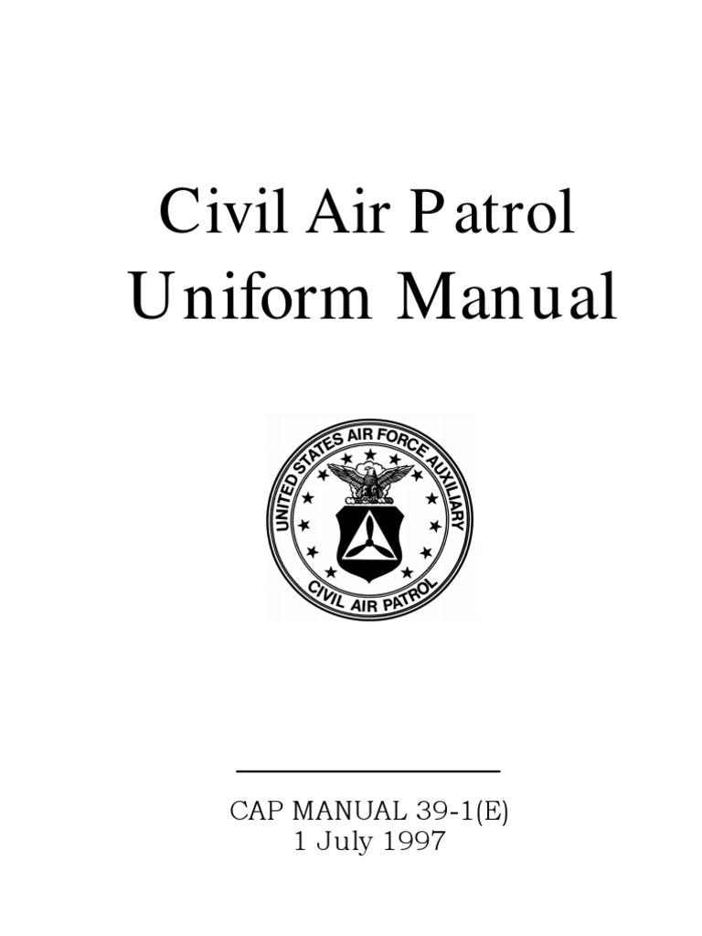 77b8ae7313e CAP Uniform Manual - 07 01 1997