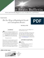 Bulletin Wise Brain