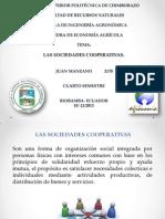 Las Sociedades Cooperativas.