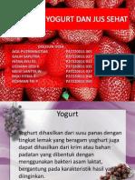 Yogurt Dan Jus Sehat