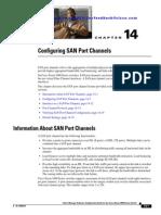 Configuring SAN Port Channels
