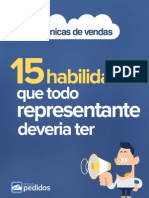 eBook 15 Habilidades Que Todo Representante Deveria Ter