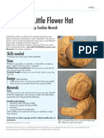 Little Flower Hat by Ewelina Murach Upd31Oct2013