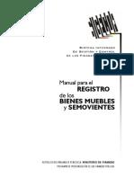 Manual Registro Bienes Muebles y Semovientes