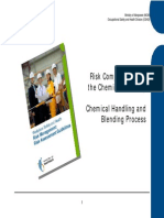 Chemical Handling and Blending Process