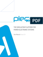 PLEXIM Plecs Manual