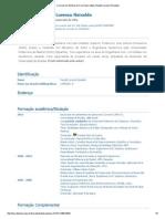 Currículo Do Sistema de Currículos Lattes (Raydel Lorenzo Reinaldo)