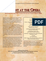 WFRP2 Classics - A Night at the Opera