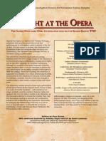 WFRP2 Classics - A Night at the Opera