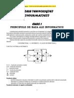 PRINCIPIILE DE BAZA ALE INFORMATICII
