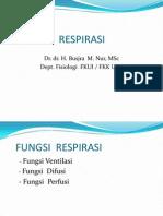 Fkumj Fisiologi Respirasi 2013