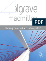 Palgrave Catalogue Banking Finance