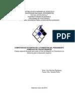 Competencias Docentes (Tesis)