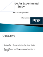 Gunn Diode Characteristics