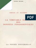Léonel Beudin - Espace Et Matière