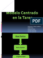 Modelo Centrado en La Tarea