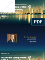 Qualcomm 2014 Annual Stockholder Meeting