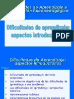 Presentacion Dificultades de Aprendizaje