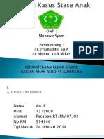 Laporan Kasus Stase Anak.ppt