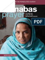 Prayer Diary March-April 2014