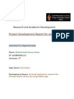 200447187 Android App Development Report