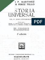 Historia Universal Vol IV Edad Contemporanea