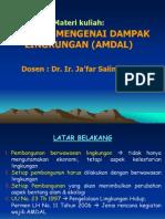 27696640 Materi 1 Kuliah AMDAL (PPL)