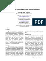 Mecanismos de Oxidacion Bacterial de Minerales Sulfurados