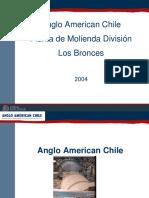 Planta de Molienda Division Los Bronces Chile
