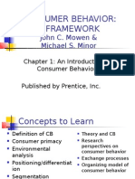 Consumer Behavior PP Chapter 1
