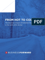 Business Impact of Extreme Weather in the 2013-2014 WInter