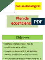 Plan de Ecoeficiencia en La Oficina