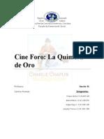 Cine Quimera de Oro