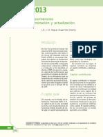 Cuca 2013. Conozca Los Pormenores Para Su Determinación y Actualización