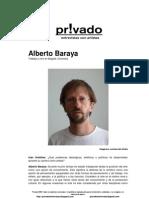 Privadoentrevistas Alberto Baraya