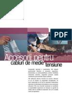 Accesorii Pentru Cabluri de Medie Tensiune