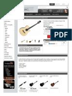 Violão Eletroacústico Nylon Super Flat Strinberg ANS-95C - Obradec Instrumentos Musicais