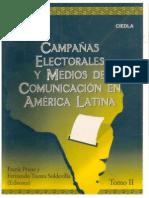 1999 Campañas electorales y Medios de Comunicación en América Latina.