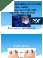 Cystitis Presentasi Dr Budi