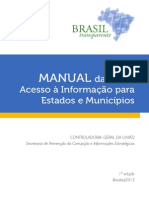 CGU - Manual LAI EstadosMunicipios