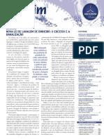 Boletim237 IBCCRIM - Inovações Na Lei de Lavagem de Dinheiro