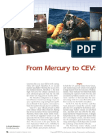 From Mercury to CEV