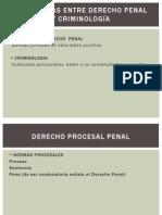 Diferencias Entre Derecho Penal