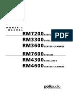 Rm 7200 Manual