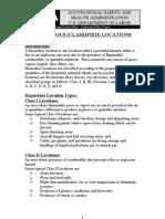 Hazardous Classified Locations
